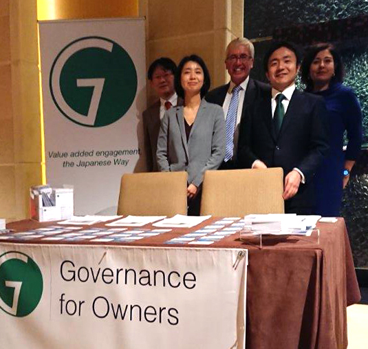 Governance for Owners attends ICGN-IIRC Tokyo