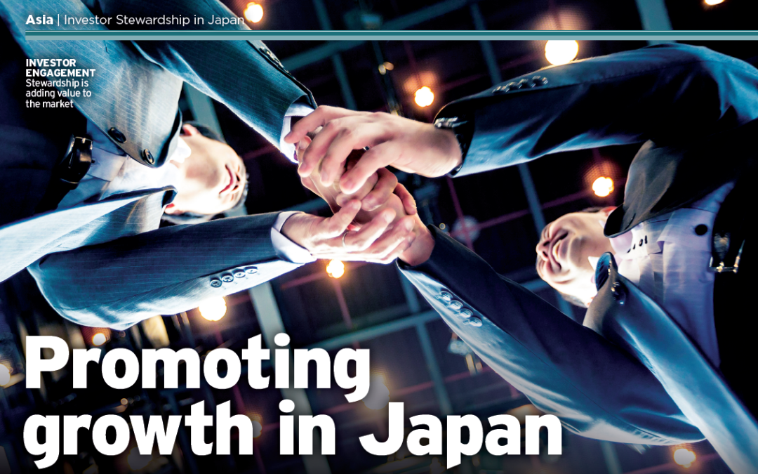 Yoshi Maeda's perspective on how investor stewardship and corporate governance are evolving in Japan